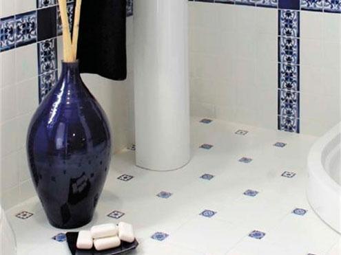 Напольная плитка в ванную комнату