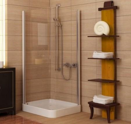 Пластик-полка и держатели для ванной - аксессуары