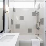 Фото дизайна ванной комнаты в светлых и белых тонах 2015 год