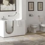 Фото новые идеи дизайна ванной комнаты в светлых и белых тонах 2015 год