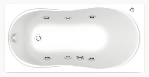 Лима от Bas - акриловая ванна (вид сверху)
