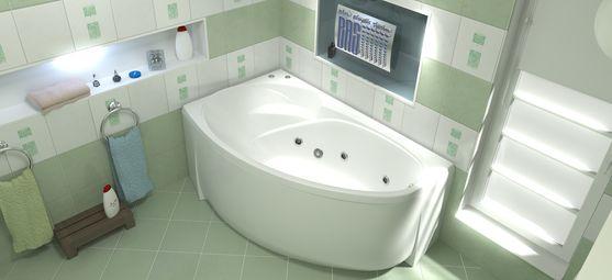 Акриловая ванна Bas