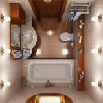 Маленька ванная комната для хрущёвки дизайн