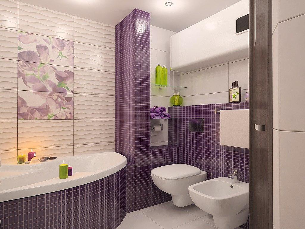 Цветовая гамма для плиток в ванную комнату