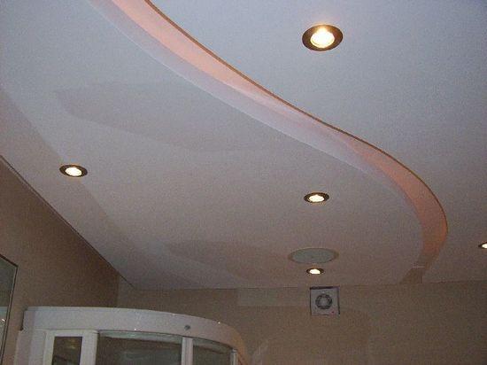 Потолки для ванной комнаты - материал СМЛ