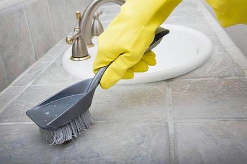 Удалить грибок в ванной комнате