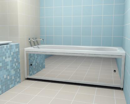 Сделать экран ванн видео
