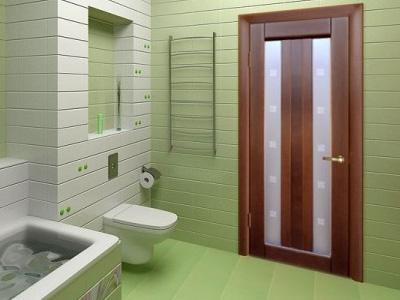 Дверь в туалет как новая
