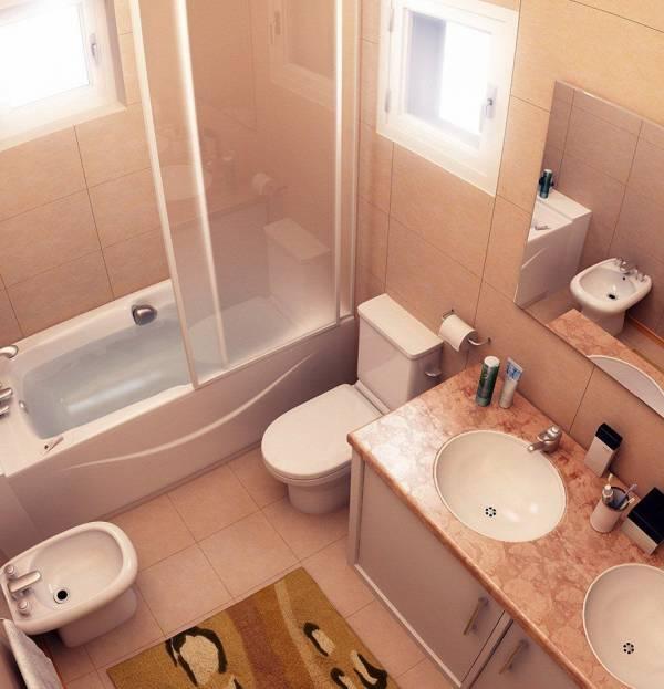 Выбор плитки в маленькую ванную в хрущевке