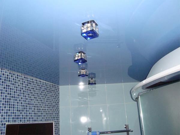 точечные светильники ванная