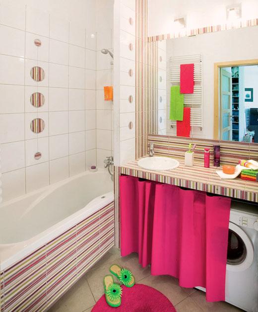 Фото маленькой ванной комнаты без унитаза