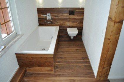 Гидроизоляция ванной с деревянным полом