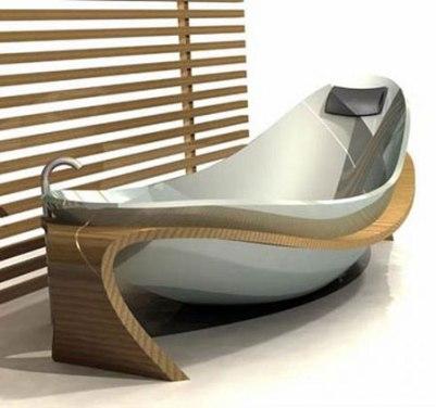 Эксклюзивная ванна необычной формы