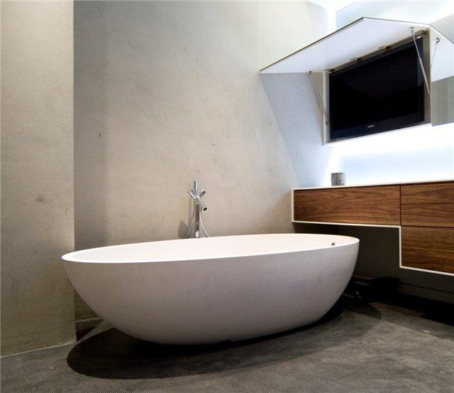 Лофт в ванной комнате