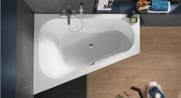 Угловые ванны: характеристики и размеры
