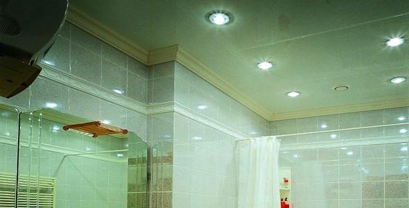 салатовый натяжной потолок: свои плюсы и минусы