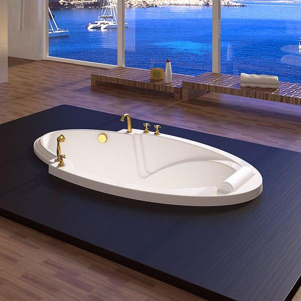 Встроенная акриловая ванна Радомир