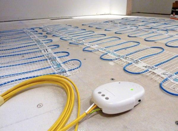 Как выглядит нагревательный кабель теплого электрического пола