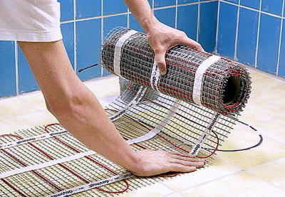 Обзор тёплых полов, которые кладут под плитку в ванной комнате и санузле