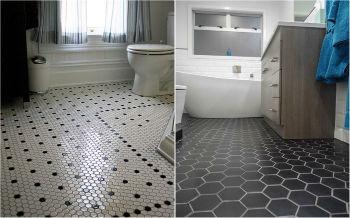 Кафель выбирают для различных помещений – кухни, ванной, прихожей и других комнат