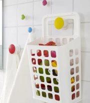 как хранить игрушки в ванной