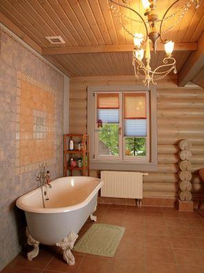 ванна деревянного дома