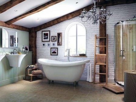 ванная на чердаке