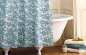 тканевые шторы для ванны