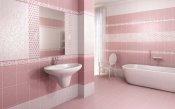 дизайна ванной в розовых тонах