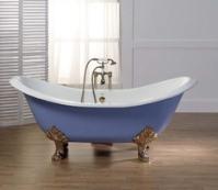 выбрать отдельно стоящую ванну на ножках