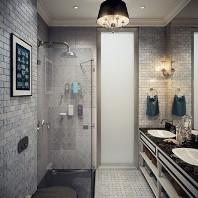 дизайн ванной площадью 6 квадратов
