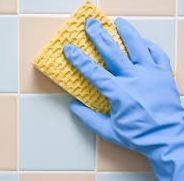 чем отмыть кафель в ванной комнате