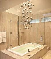 какую люстру повесить в ванной
