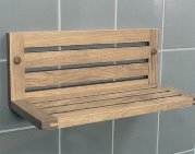 сделать деревянную полку в ванную