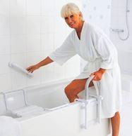 установить поручни для ванны