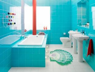 коврик в ванне