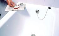отремонтировать акриловую ванну