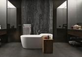дизайна ванной в темных тонах