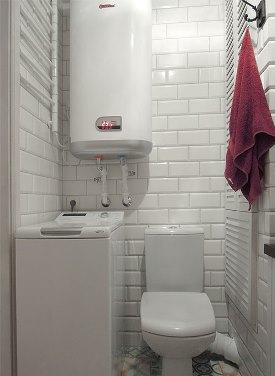 бойлер в ванной