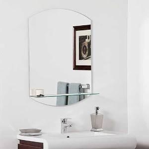 размеры зеркала с полкой
