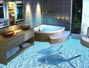 3D объекты в дизайне ванной