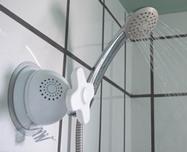 как в ванной установить радио