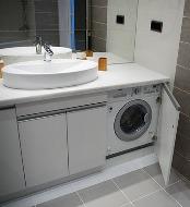шкаф для встроенной стиральной машинки