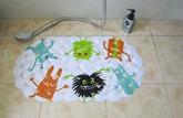 выбрать нескользящий коврик в ванную комнату