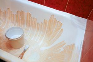 жидкий акрил на ванне