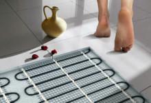 Правила монтажа водяного теплого пола в ванной комнате