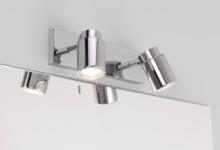 Светильники над зеркалом в ванной: делаем правильный выбор