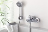 Краны для ванной с душем: разбираемся в многообразии моделей