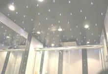 Подвесные потолки в ванной комнате: виды и монтаж