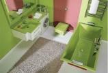 Зеленая ванная комната — фото (какую выбрать)